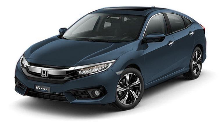 Honda Civic 1.8E 2019 (Bạc/Đen)