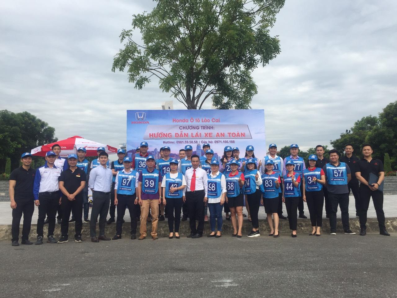 Honda Ôtô Lào Cai tổ chức thành công chương trình