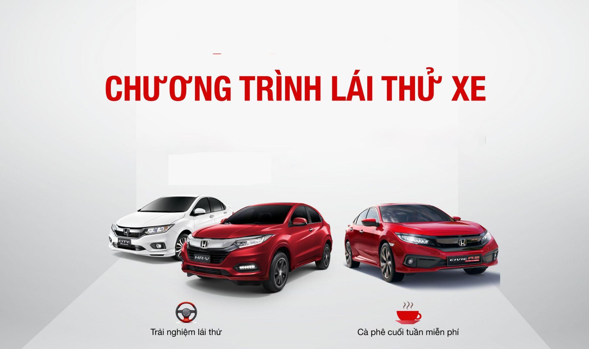 Honda Ô tô Lào Cai tổ chức sự kiện lái thử
