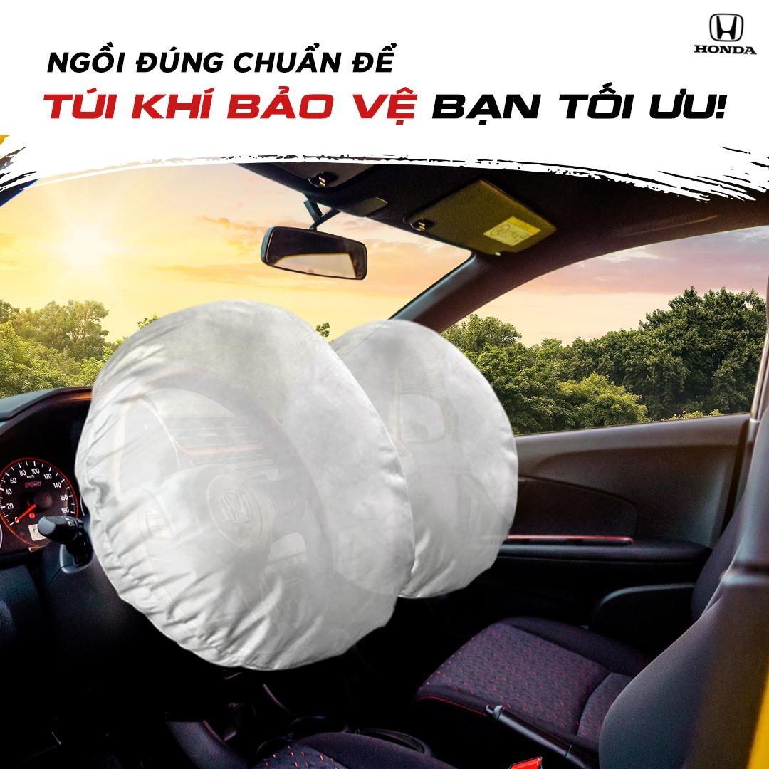 Ngồi đúng chuẩn để túi khí bảo vệ bạn tối ưu!